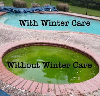 winter pool care