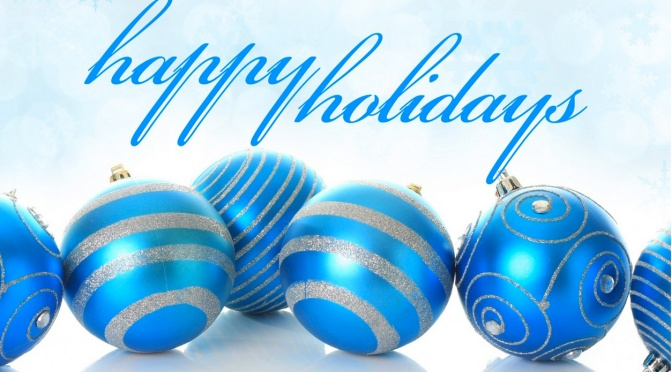 Happy Holidays from South Shore Pool Supply!