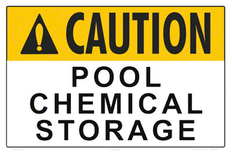 Proper Pool Chemical Storage Is Imperative To Avoid Harmful Reactions,  Mixing And Spills. While Fireworks May Be Part Of Our Summer Fun, Properly  Storing ...