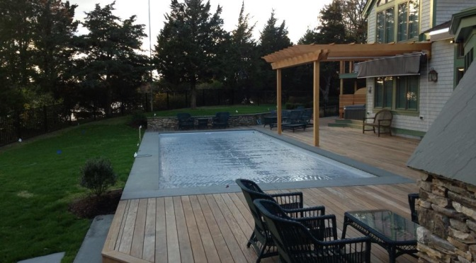 Protecting Your Pool Deck from Winter Weather